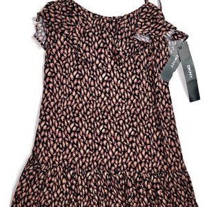 DKNY Women Size L Dress Spaghetti Strap